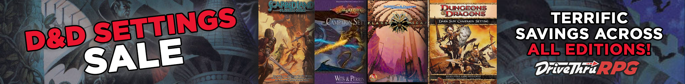 Seeking a new D&D setting for the next campaign? We have options across all editions!