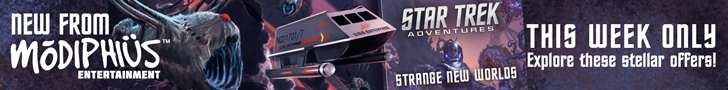 This week, continue your voyages with 40% off Star Trek Adventures titles
