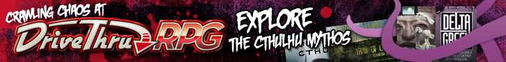 Cthulhu Mythos - Available Now @ DriveThruRPG.com